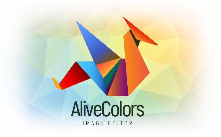 Editor de imagens AliveColors